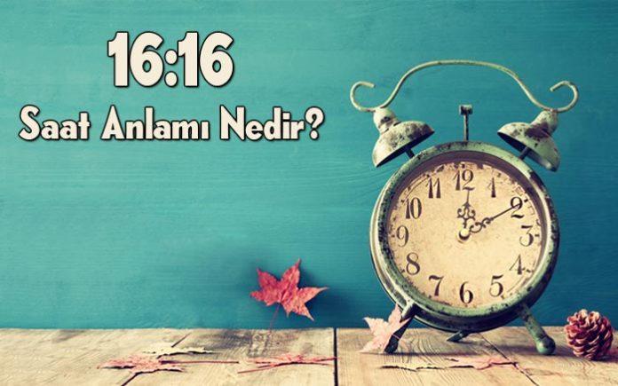 16.16 saat anlamı nedir