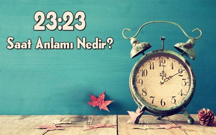 23.23 saat anlamı nedir